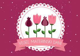 Voščilo za materinski dan, ki so ga pripravili učenci in učenke NIS-a :)