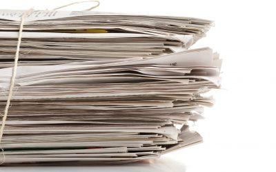 Zbiranje zamaškov in starega papirja